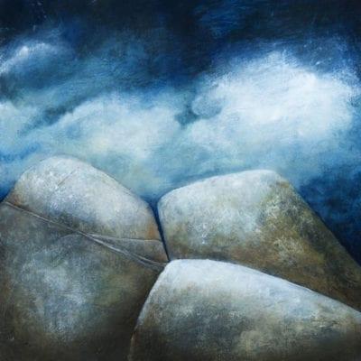 Three Rocks 14x14 -1800