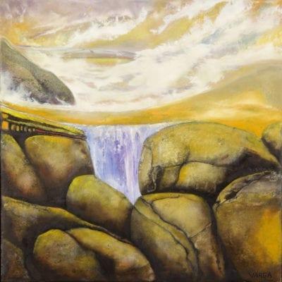 Waterfall 19 x 19 3000