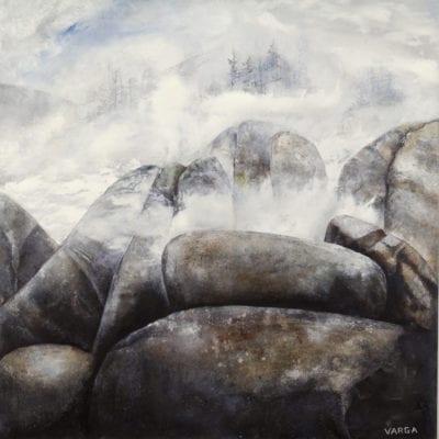 Winter Fog 24x24 -3800