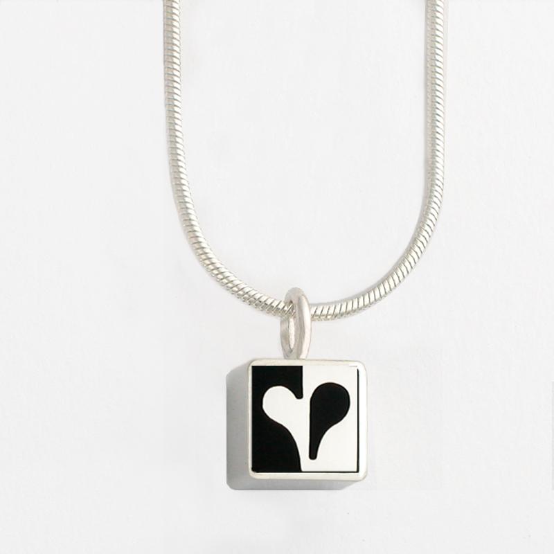 3450 c mini square half heart pendant victoria varga jewelry 3450 c mini square half heart pendant aloadofball Choice Image