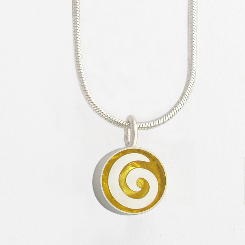 jewelry diamond necklace w lyst macys gold swirl s pendant t rose gallery ct in tw metallic macy designer